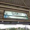 6/14:湘南モノレール全駅の駅名標を記録