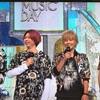 THE MUSIC DAY〜NEWS夏唄メドレー、ジャニーズシャッフル