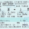スーパーひたち18号 乗車券・B特急券【トクだ値15】