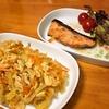 ツナと玉葱の炒め (妻料理)