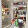 冷蔵庫を片付ける