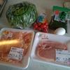 週末キッチン男飯 豚肉とミニトマトのソテー 鶏肉とあおさのピカタ