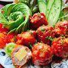 豚こまチーズボールのケチャップ炒め(動画レシピ)/Choped Pork roll with Tomato ketchup.