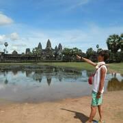 【世界遺産】ナスカの地上絵を延長してみるとカンボジアのアンコールワットと繋がる⁉