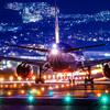 千里川土手で飛行機撮影 #1