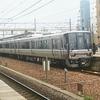 琵琶湖線野洲駅 同一ホーム接続と行き交う列車を眺めながら