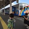 【四国半周アンパンマン列車の旅⑥】瀬戸大橋アンパンマントロッコに乗るよ