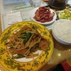 大手町【魯香酒楼】にらレバ炒め定食 ¥730