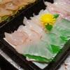 【函館市】坂井鮮魚店|購入した新鮮な刺身で白身魚祭り