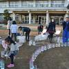 「大好き いばらき キャンドルナイトリレー」10番目は岡田小学校ふれあいスクール プチ・キャンドルナイトです。(平成26年12月8日)