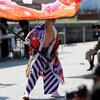 旗士の競演:関門よさこい大会2017(門司港、親水公園)