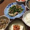 豚肉と長葱とニラの自家製焼肉のたれ焼き