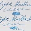 この色が自作古典インクの原点 Light blueblack