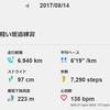 信州駒ヶ根ハーフマラソンの練習(3)