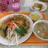 【東銀座グルメ】タイ料理「タイ国屋台食堂 ソイナナ」でパッタイランチ