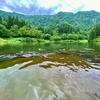 大崎ダム湖(新潟県南魚沼)