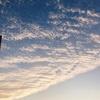 雲が印象的な日