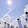 ニュースの読み方 ~ 「ブルーインパルスが都心上空を飛行 医療従事者などに感謝の意」のニュースと映像の構図