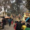 タメル地区から徒歩で世界遺産へお参り「スワヤンブナート寺院」@ カトマンズ