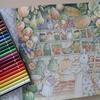 色鉛筆の重ね塗りスタート・兎倉庫ページ