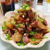 【レシピ】砂肝とこんにゃくの♡めんつゆポン酢炒め♡