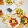 【和食】どんぶりの盛付/Decoration of Bowl Menu