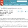 【対訳】2019年5月6〜7日にかけてのウィーンにおけるFATF民間セクター諮問フォーラム FATF Private Sector Consultative Forum, Vienna, 6-7 May 2019