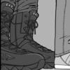 『仮面ライダー1号』で本郷猛が履いていたブーツ