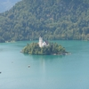 スロベニア・クロアチア旅行記 2nd day 8月19日日曜日(アルプスの瞳ブレッド湖)#1