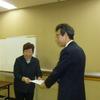 18日、建交労福島県本部が、高齢者事業団をシルバー人材センターに準ずる団体として認定し随契で仕事を発注する事などを求めて県と交渉。