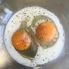 スクランブルエッグを作った
