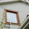 階段窓木枠メンテ