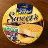 スーパーカップ sweets ブルーベリーチーズケーキ
