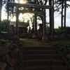 薬師如来軍団と荻窪神社。
