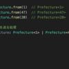 TypeScript で 都道府県型を定義する