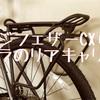 フジフェザーCX+カスタム【IBERA(イベラ)】リアキャリア装着