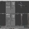 HoloLens特化のホロ恋子モデルを作成する その25(脚とHMDのモデリング)