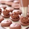 チョコレートマカロンとバタークリームの作り方