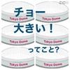 東京ドームの謎 ❓