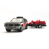 ISUZU RODEO & MOTOR-CYCLE TRAILER