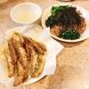 アユの稚魚の天ぷらと薬味たっぷり蕎麦
