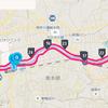 レース3週間前の30キロ走