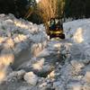 お待たせいたしました!除雪完了・水源までの道開通。あらえびす手汲み伏流水出荷再開のお知らせ!