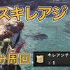 【MHWI】ドスキレアジ2匹を効率よく納品する方法!【イベクエ】