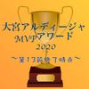【第13節終了時点】大宮アルディージャMVPアワード2020