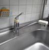 流し台シングルレバー 混合水栓 交換 札幌市白石区