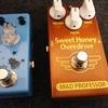 ミニサイズのペダルブランド、Movall Audioの「Firefly MM-03」を「New Sweet Honey Overdrive」と比べて試奏してきました!レポートします。