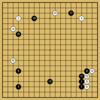 Master対AlphaGoZeroの棋譜8