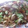 幸運な病のレシピ( 1133 )昼 :血糖値の上がらない焼きそば、カレー(保温鍋でほほ具のみ)