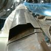 1971 マスタングマッハ1 左クォーターフレームの修復2